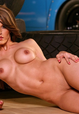 Joey Elle in Black Mesh from Playboy Sexy Wives - Spicy Bunnies - The ...