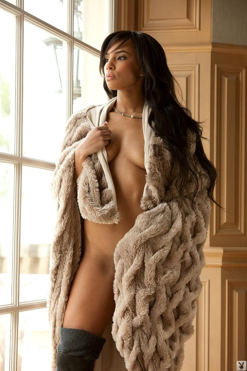 Erica Jackson Wearing Fur - Spicy Bunnies - The Best ...