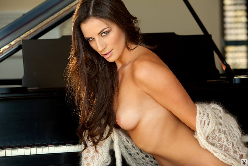 Nadia Marcella Naked at the Piano - Spicy Bunnies - The ...