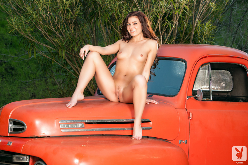 Mariela Henderson Playboy Truck
